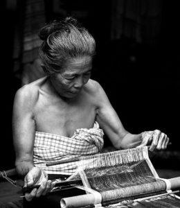woman weaver